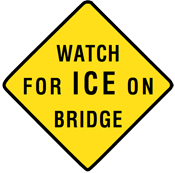 watch for ice bridge